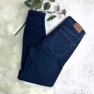 """MADEWELL▪️10"""" High Rise Skinny in Hayes Wash. 28"""